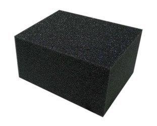 Cartec Gąbka Vinylowa DUŻA czarna nakładanie czernidła