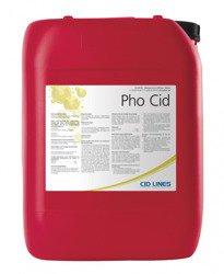 Cid Lines PHO CID 25kg usuwa białko kamień rdzę Mycie i dezynfekcja systemów C.I.P.