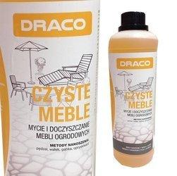 DRACO Czyste meble 1L mycie mebli ogrodowych Tarasu Pergoli Plexi Elewacji