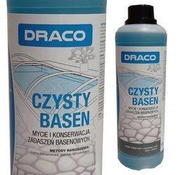 DRACO Czysty basen 1L mycie i konserwacja zadaszeń basenowych Plexi Szkło Pergole
