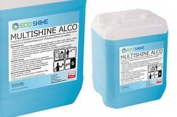 ECO SHINE MULTISHINE ALCO 10L alkoholowy preparat czyszczący