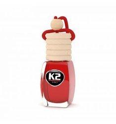 K2  Zapach samochodowy 8ml truskawka STRAWBERRY stopniowa aplikacja