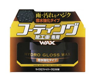SOFT99 HYDRO GLOSS WAX WATER REPELLENT wosk hit