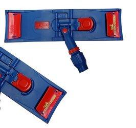 Stelaż do mopa klips byt 50cm niebiesko czerwony