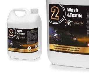Youtech 2 WASH TEXTILE 5kg Pranie Tapicerki Dywan