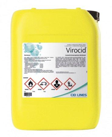 CID LINES VIROCID 10L dezynfekcja pojazdów urządzeń maty przejazdowe bramy przejazdowe ferma