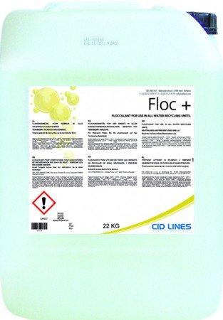 Cid Lines FLOC 20L flokulant do wody Oczyszczanie wody  Neutralizacja zapachów w myjni samochodowej
