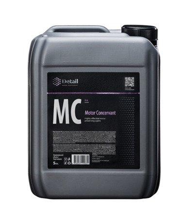 DETAIL MOTOR CONCERVANT MC 5L konserwacja silnika