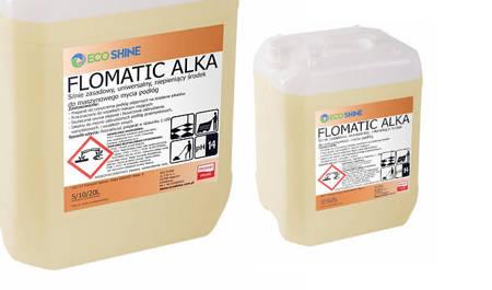 ECO SHINE FLOMATIC ALKA 10L maszynowe mycie podłóg mocno zabrudzonych