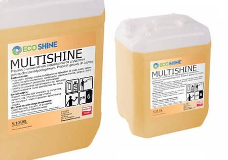 ECO SHINE MULTISHINE 5L uniwersalny płyn czyszczący Zapachowy meble skóra drewno