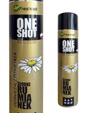 One Shot SŁODKI RUMIANEK 600ml Odświeżacz Powietrza
