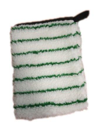 Rękawica do tapicerek biało-zielona
