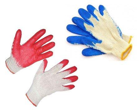Rękawice wampirki dzianinowe ogródek warsztat