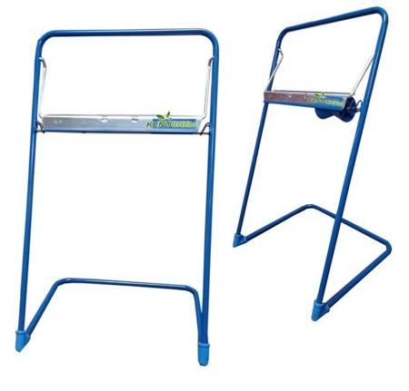 Stojak podłogowy do czyściwa ręczników w roli niebieski Uchwyt na papier Stelaż